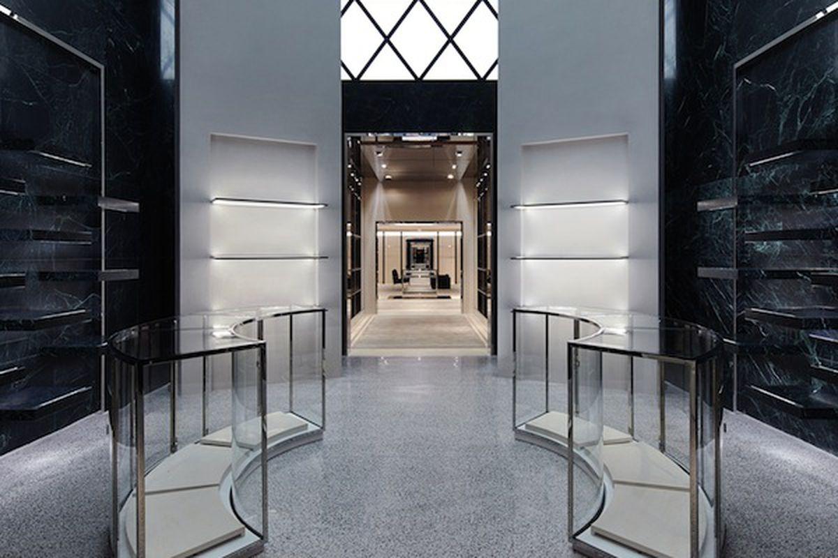 Wang's first Balenciaga boutique. Photo courtesy of Naho Kubota\Balenciaga.