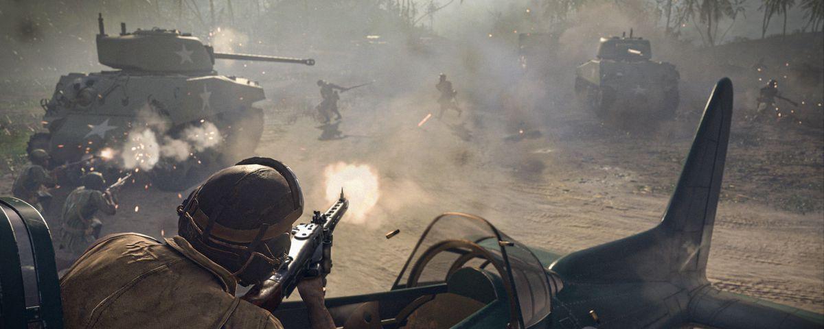 A battle in Call of Duty Vanguard