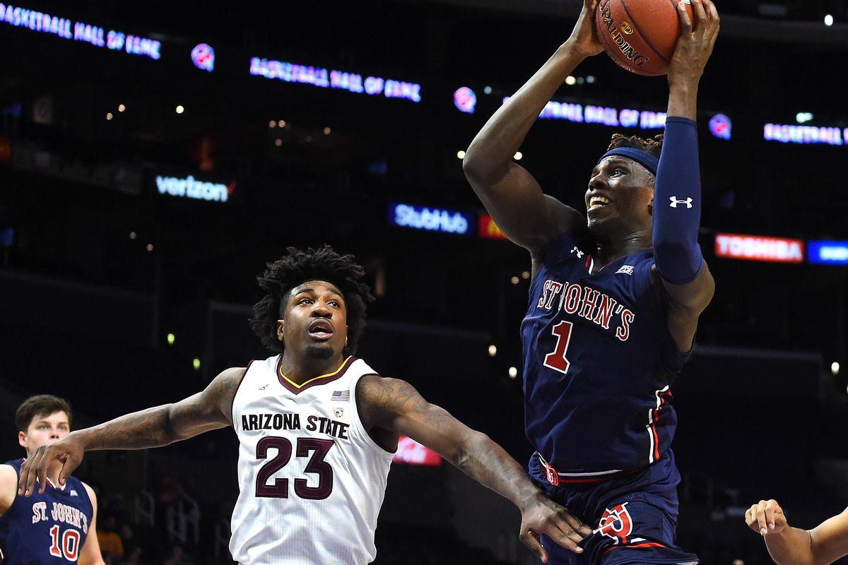 NCAA Basketball: St. John at Arizona State