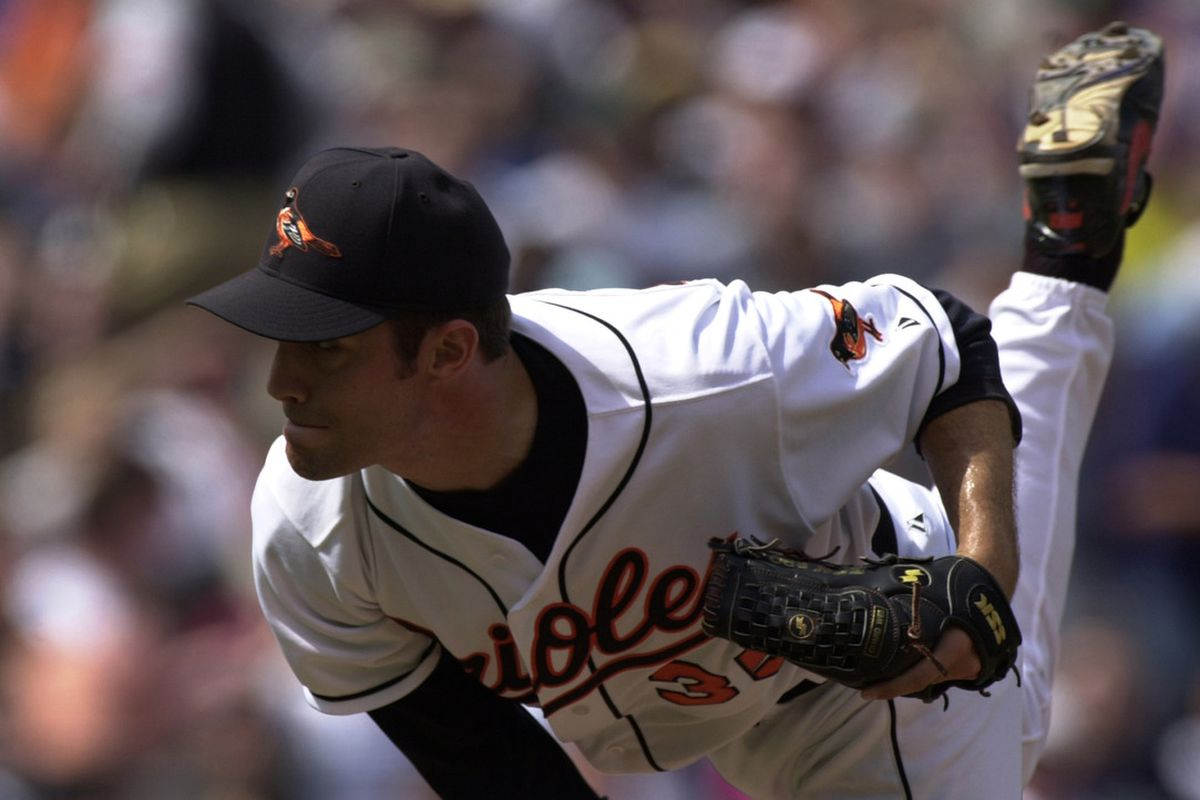 Congrats to Mike Mussina on his election into the Orioles Hall of Fame. (Doug Pensinger/Staff - Getty Images)