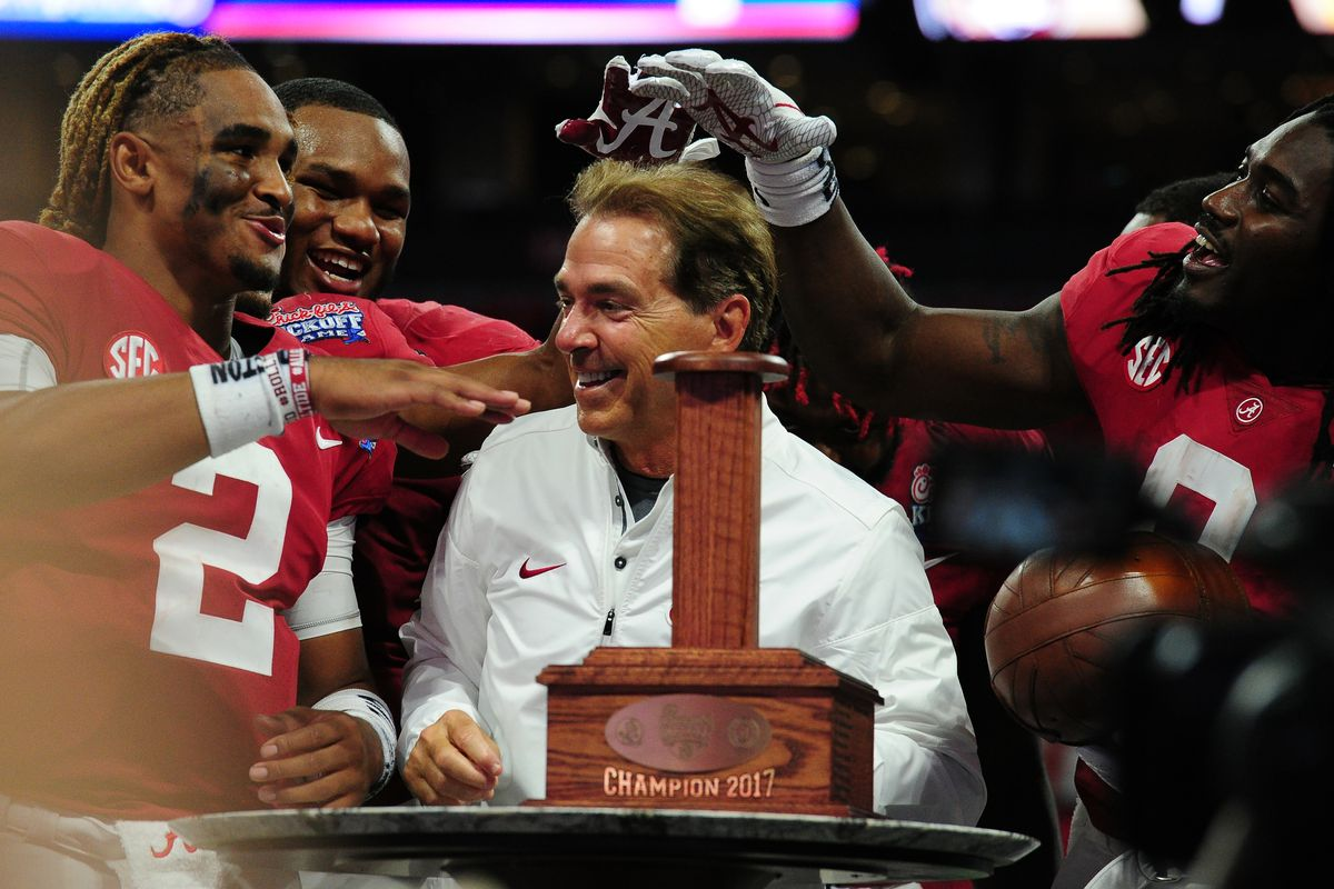 Alabama close to being a unanimous No. 1 in both polls
