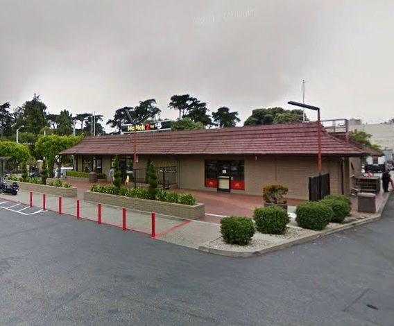 Stanyan Street McDonald's.
