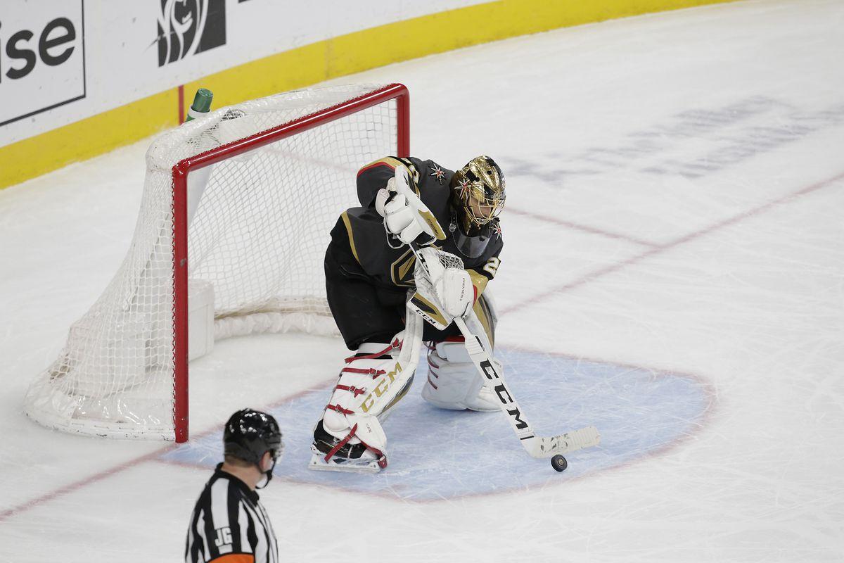 NHL: JAN 07 Penguins at Golden Knights