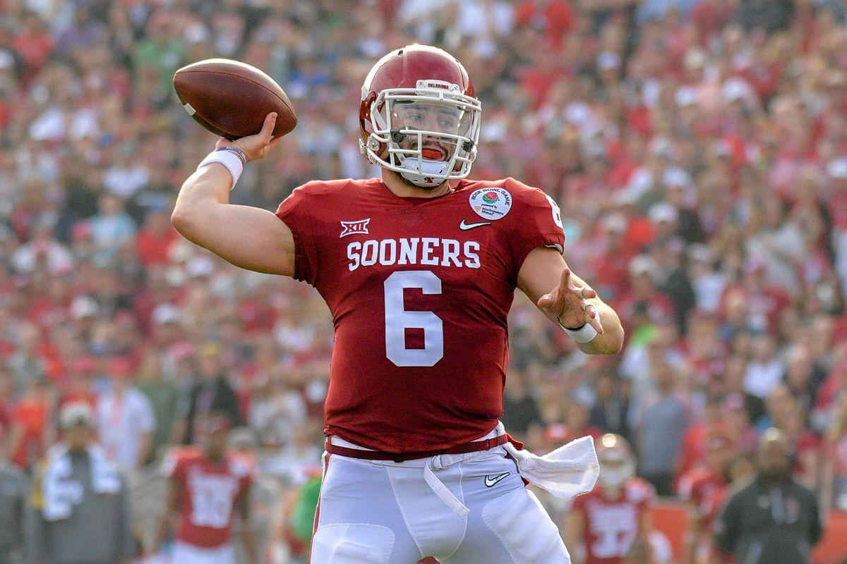 Oklahoma Football — 2018 NFL Draft Profile: Baker Mayfield ...