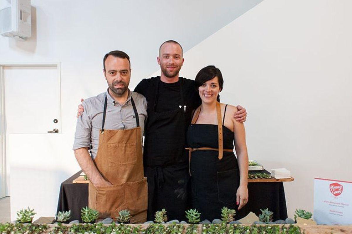 Hôtel Herman's Dominic Goyet, Marc-Alexandre Mercier and Ariane Lacombe
