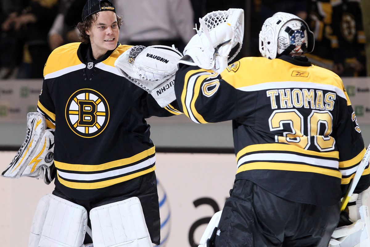 Nhl Hot Stove 2012 Tim Thomas Or Tuukka Rask Whose Value Is