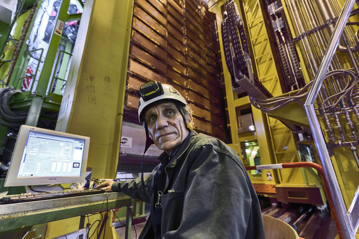Nikolai Bondar works on the LHCb Muon system at the European Organization for Nuclear Research Large Hadron Collider facility outside Geneva, Switzerland.
