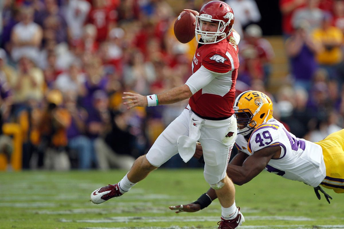 This is your marquee matchup according to the coaches: Arkansas offense versus LSU defense.