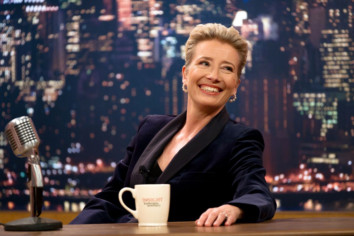 Emma Thompson stars in Late Night, which premiered at Sundance in January 2019.