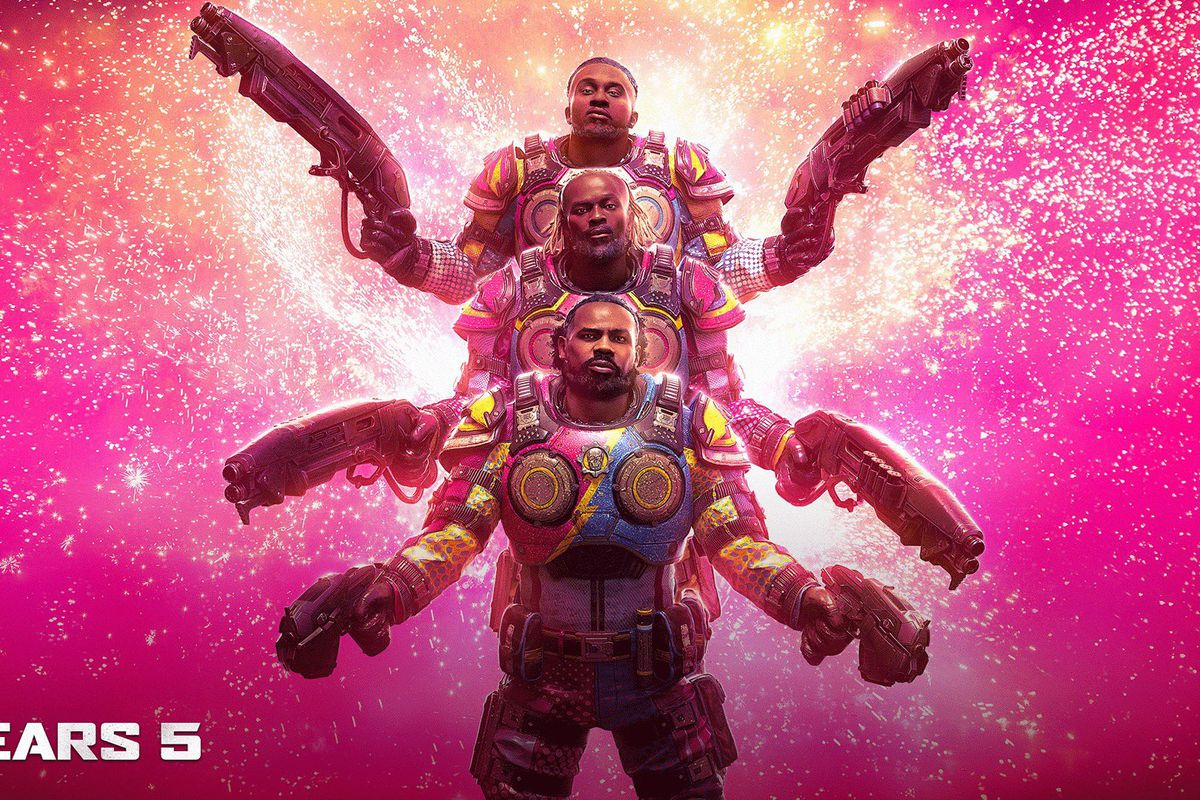 Wrestling stars The New Day joining Gears 5 as playable characters - Polygon