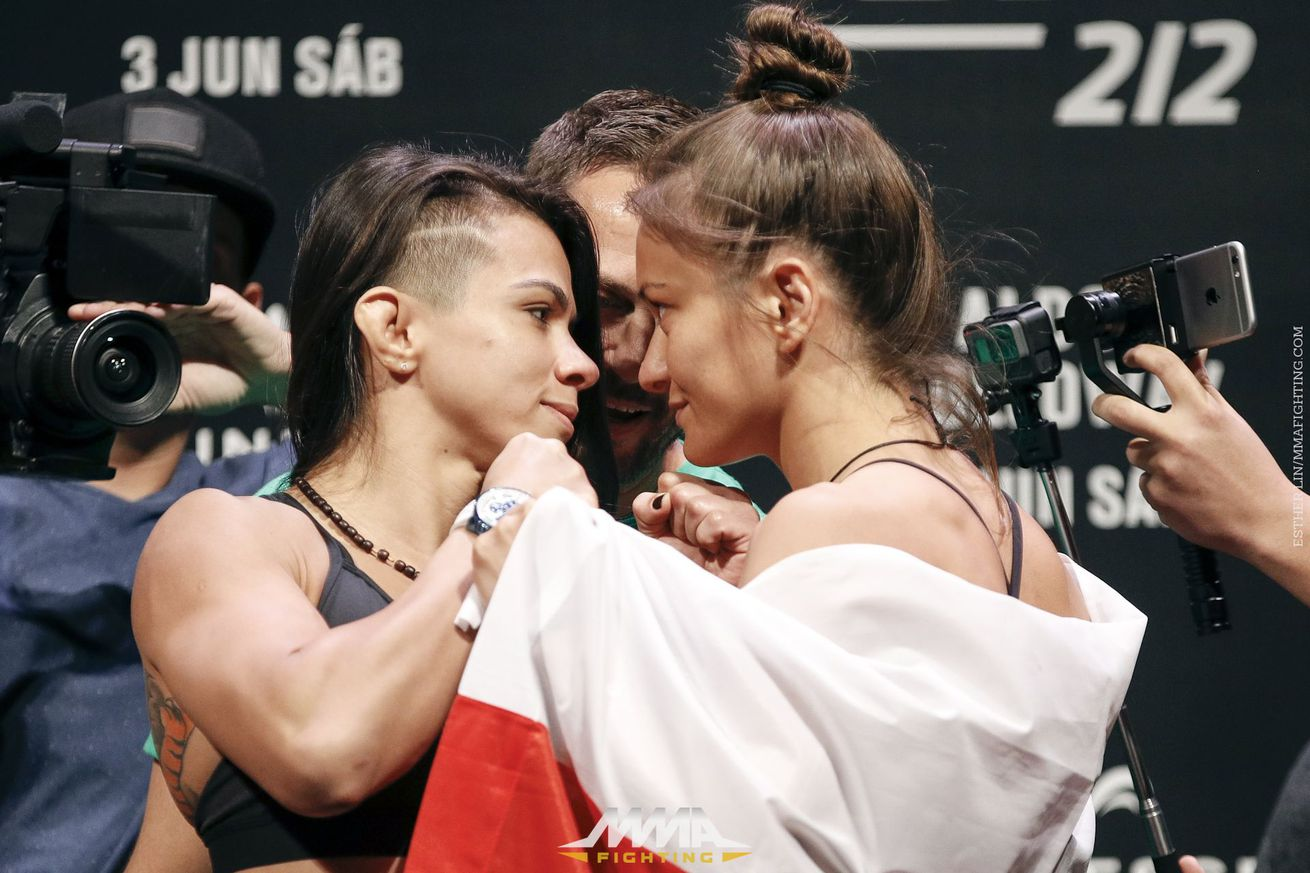 community news, UFC 212 live blog: Claudia Gadelha vs. Karolina Kowalkiewicz