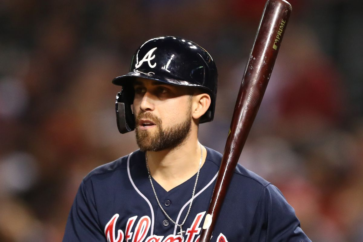 new arrival 3663b 3426f Ender Inciarte injury: Braves outfielder resumes baseball ...