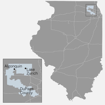 Illinois' 6th District Congressional district rings the city spanning parts of Cook, DuPage, Lake, Kane and McHenry counties | Tanveer Ali/Sun-Times