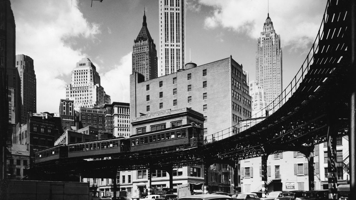 History of New York City's elevated train - Curbed NY