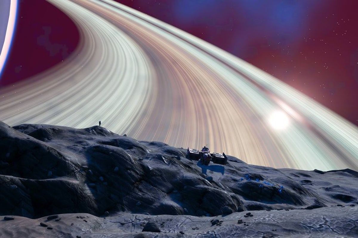 Flying in No Man's Sky is beautiful now, but not that easy