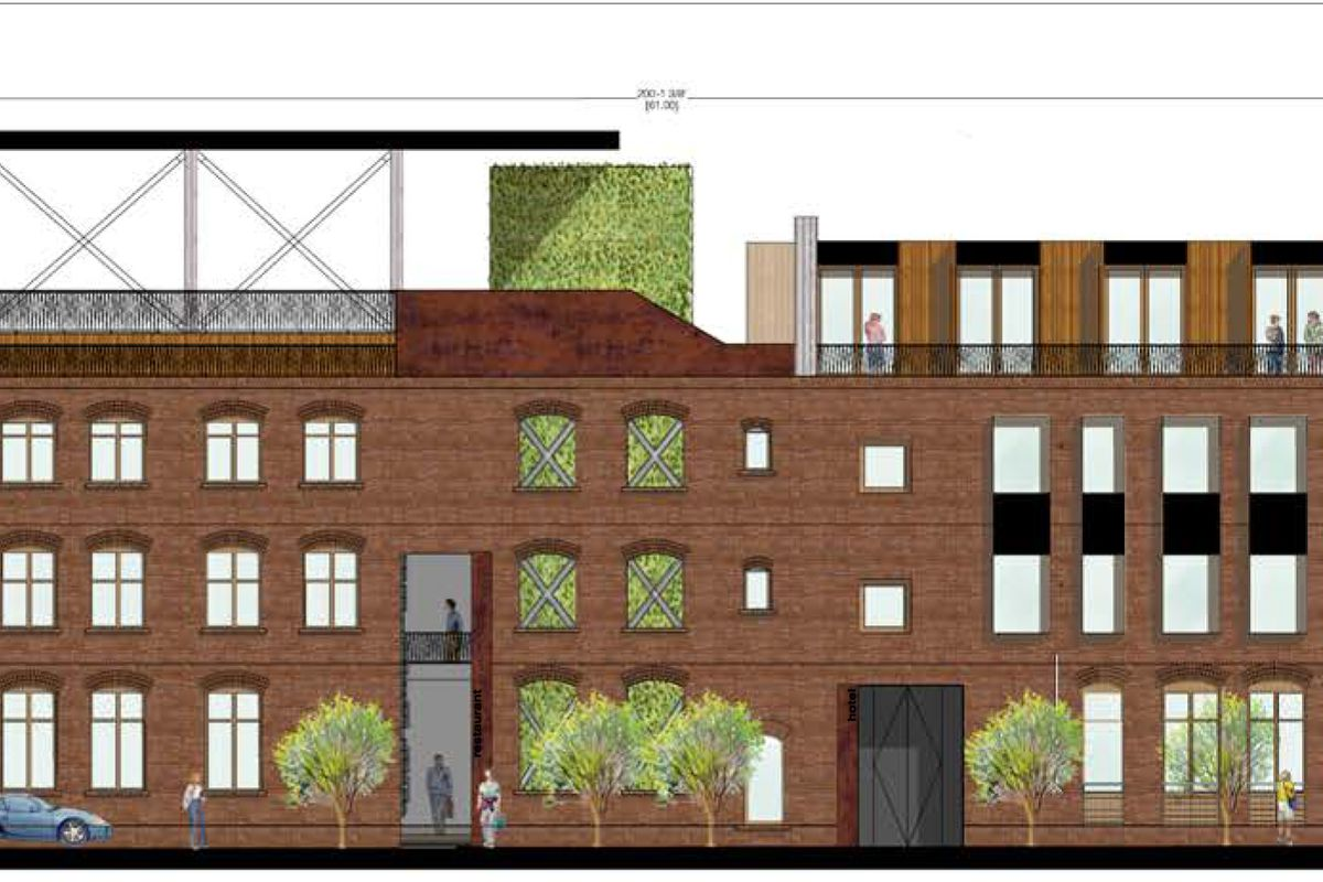 first look at arts district boutique hotel coming to 4th and alameda