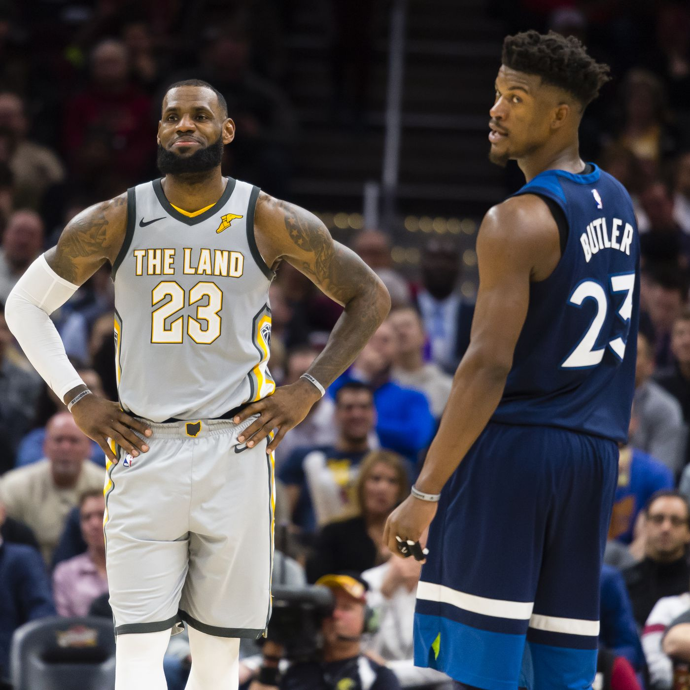 2a2f2d7046ae Jimmy Butler doesn t want to play with LeBron James. Is this a new  superstar trend