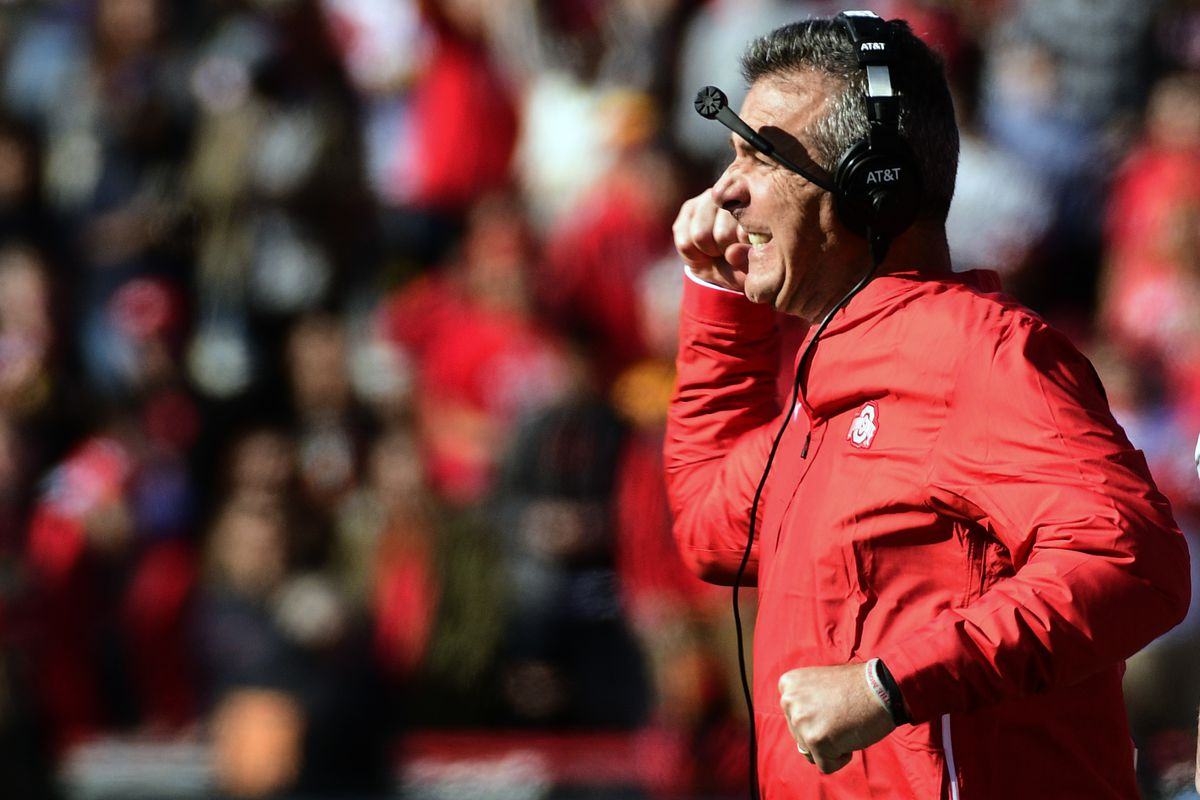 Ohio State vs  Maryland: Watching Urban Meyer was just uncomfortable