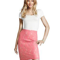 "<a href=""http://www.hm.com/us/product/98979?article=98979-A#&campaignType=K&shopOrigin=QL"">Lace skirt</a>, $14.95"