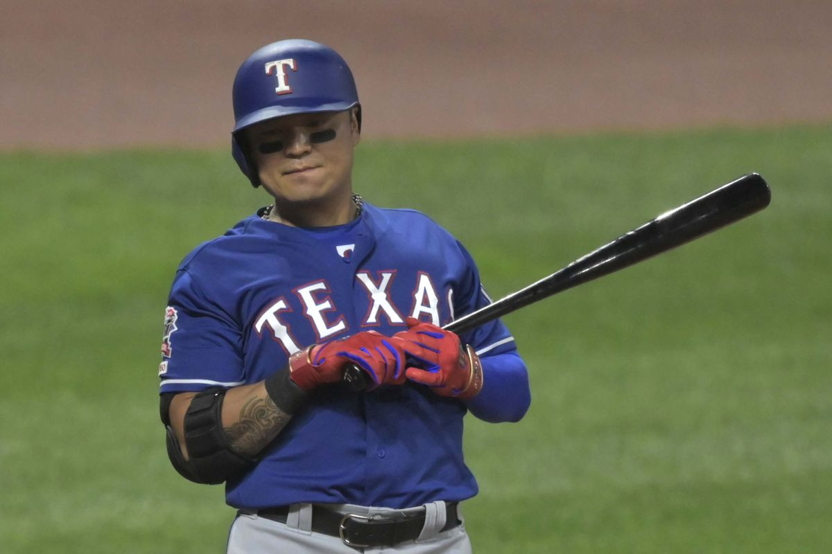 MLB: Texas Rangers at Cleveland Indians