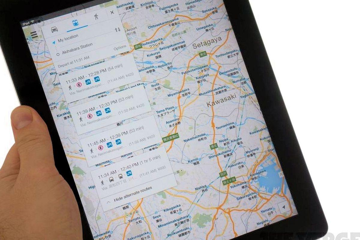 Google Maps Adds Offline Navigation and Search - Vox on google docs app, google facebook app, google earth app, google voice app, google voicemail app, google navigation app icon, google places app, apple maps app, google maps app windows 8,