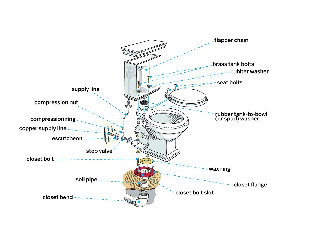Hookup toilet plumbing How To