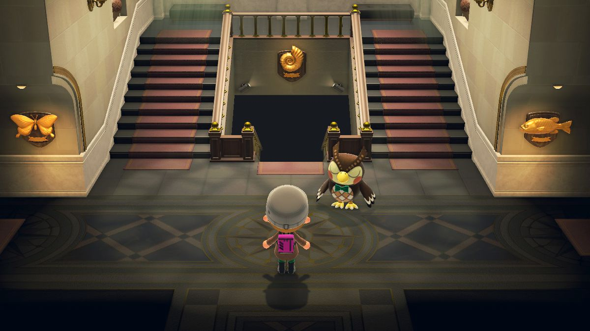 The museum in Animal Crossing New Horizons