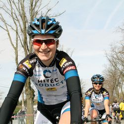 Elisa Longo Borghini, just before the race