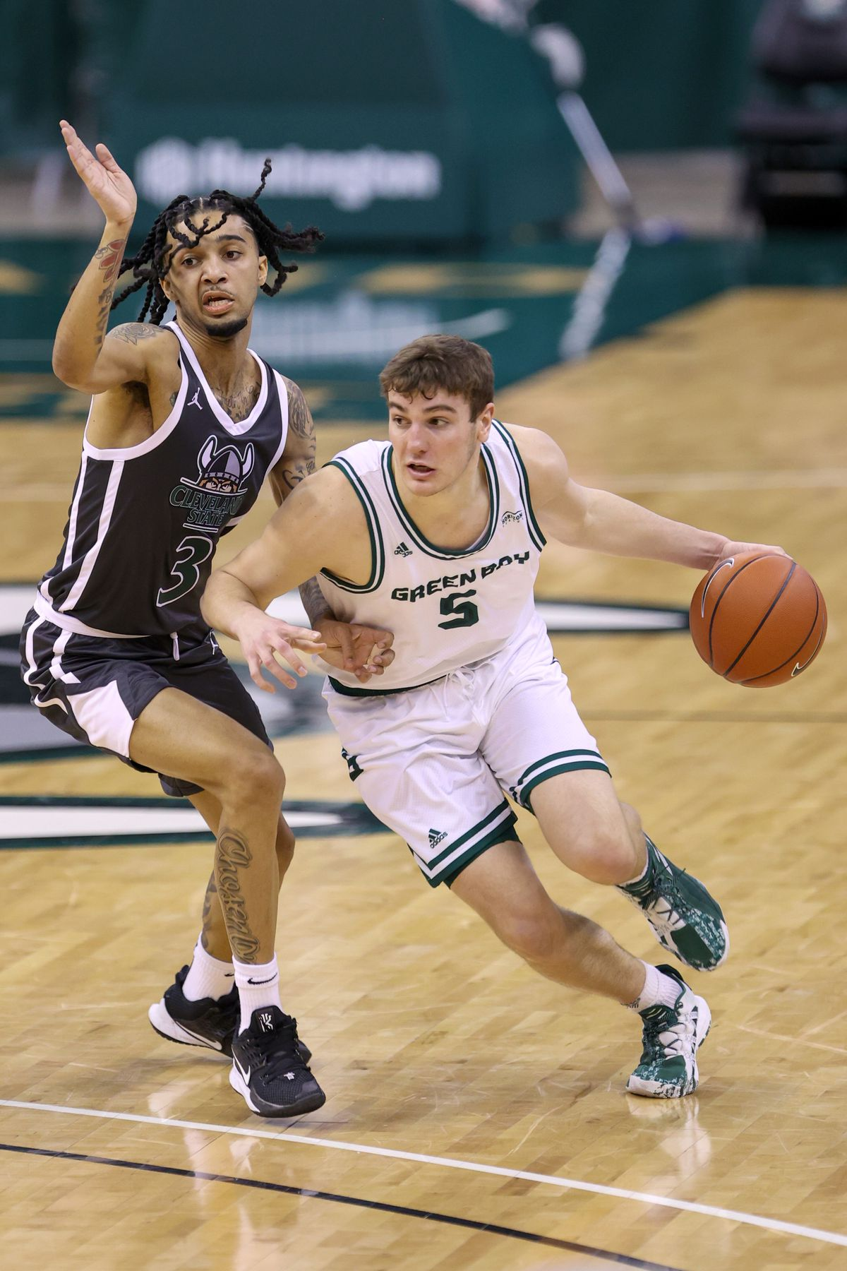 COLLEGE BASKETBALL: JAN 30 Green Bay at Cleveland State