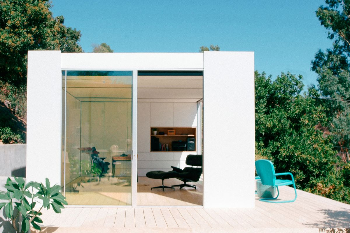 La prefab company cover unveils its first sleek unit for Prefab granny unit california