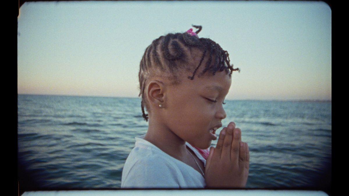 A still of a child from Khalik Allan's Black Mother.