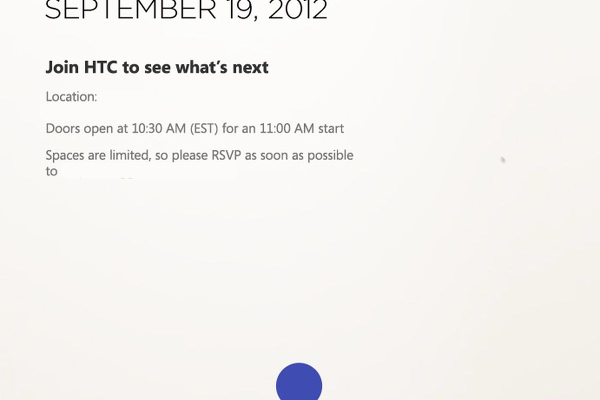 HTC holding event on September 19th, new Windows Phone 8 ...