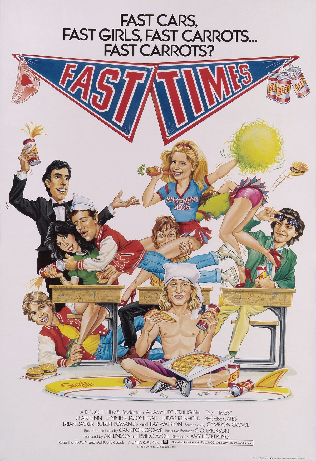 'Fast Times' poster (GettyImages)