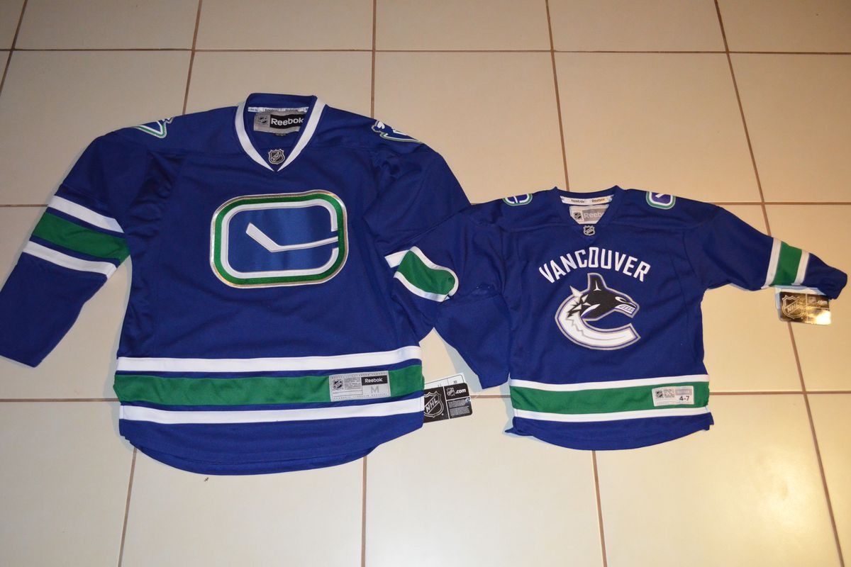New jerseys for the family!