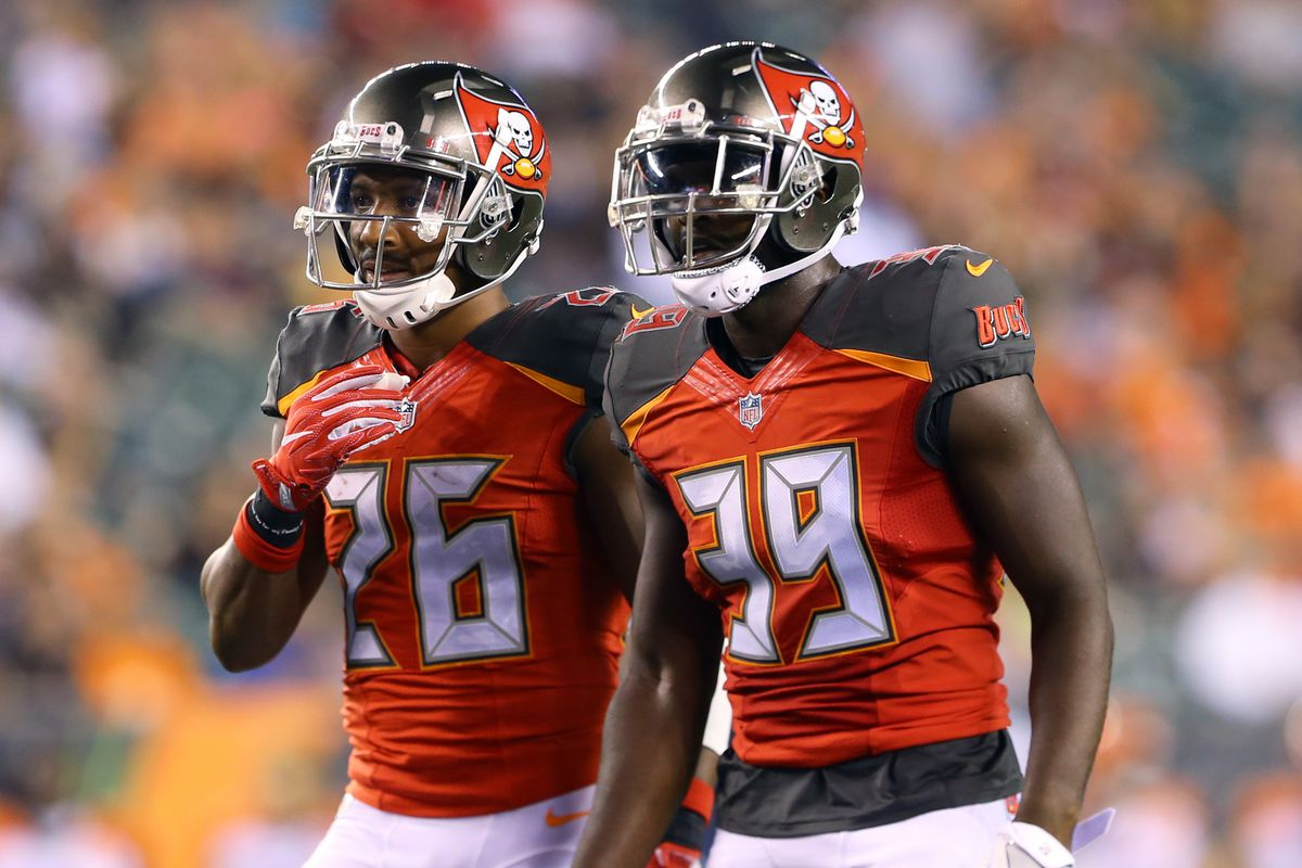 Buccaneers promote Isaiah Johnson T J Ward probably out tonight