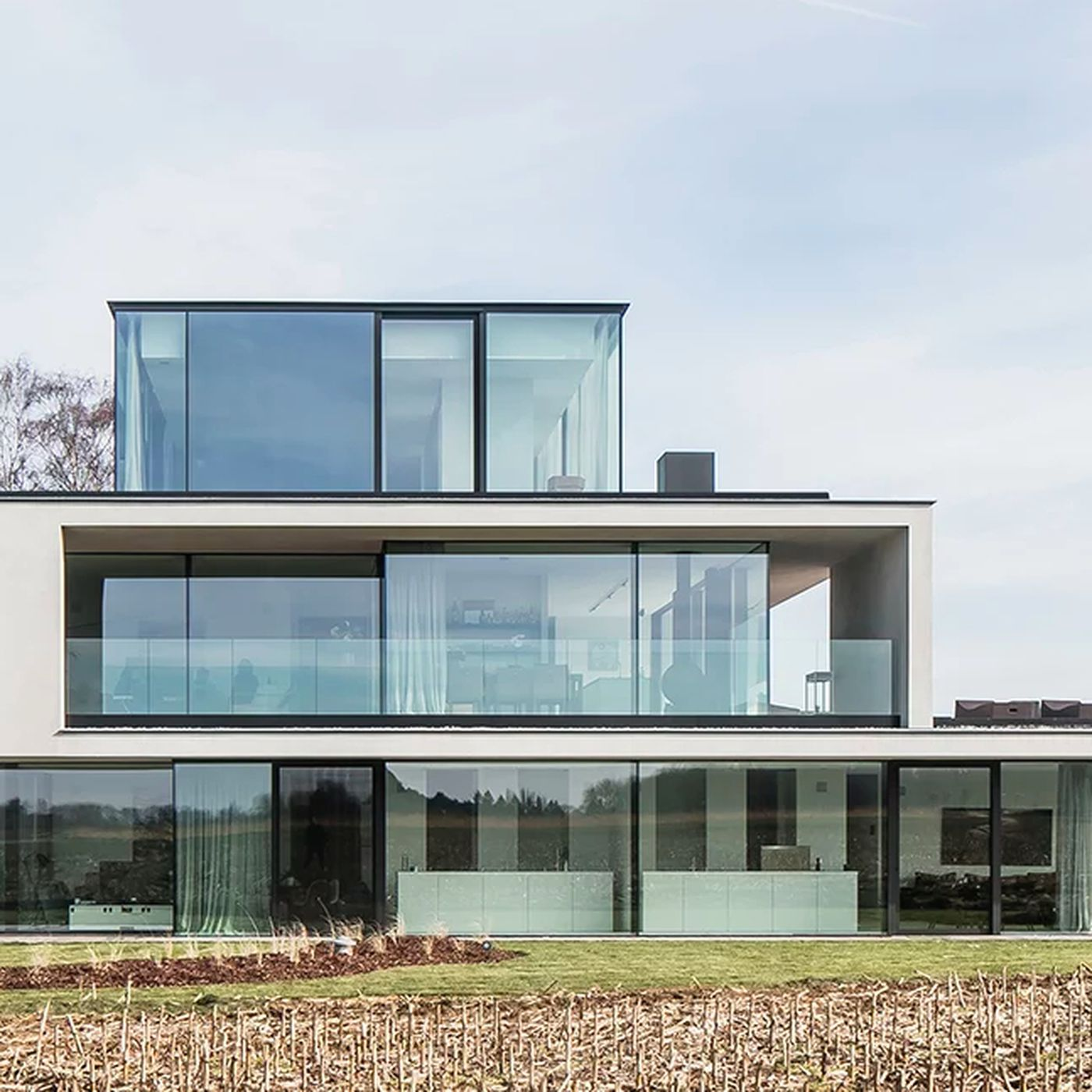 Multigenerational Home For The Modern Age Rises In Belgium Curbed