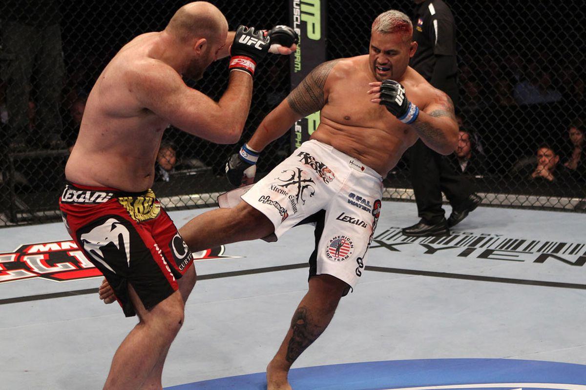 UFC 135 at the Pepsi Center on September 24, 2011 in Denver, Colorado.