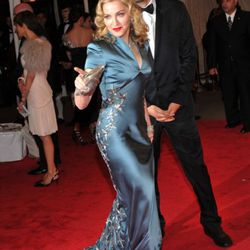 Madonna in Stella McCartney with Guy Oseary