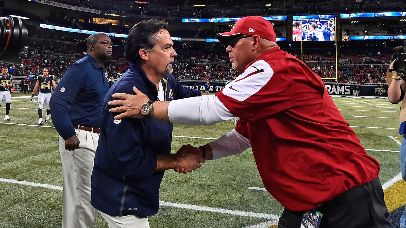 Cardinals Vs Rams Preview Bruce Arians Feeds The Division Rivalry Revenge Of The Birds