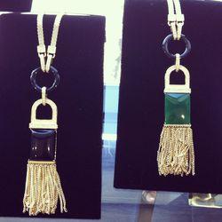 Art Deco Collection necklace, $350