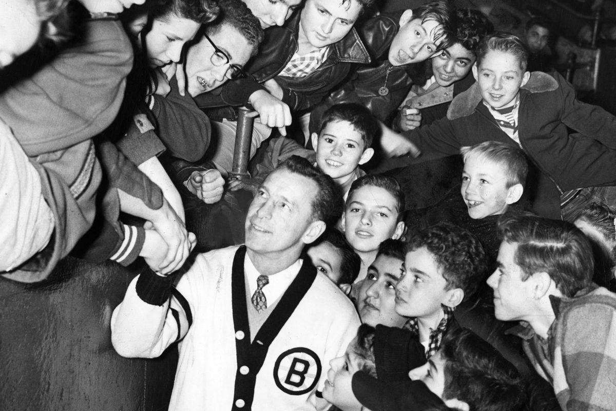 Boston Bruins Legend Milt Schmidt