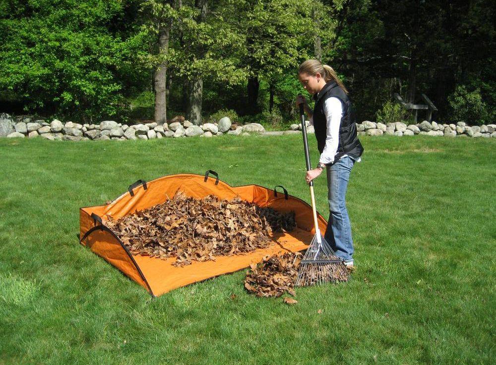 EZ Lawn and Garden6x4-foot Leaf Hauler Sport