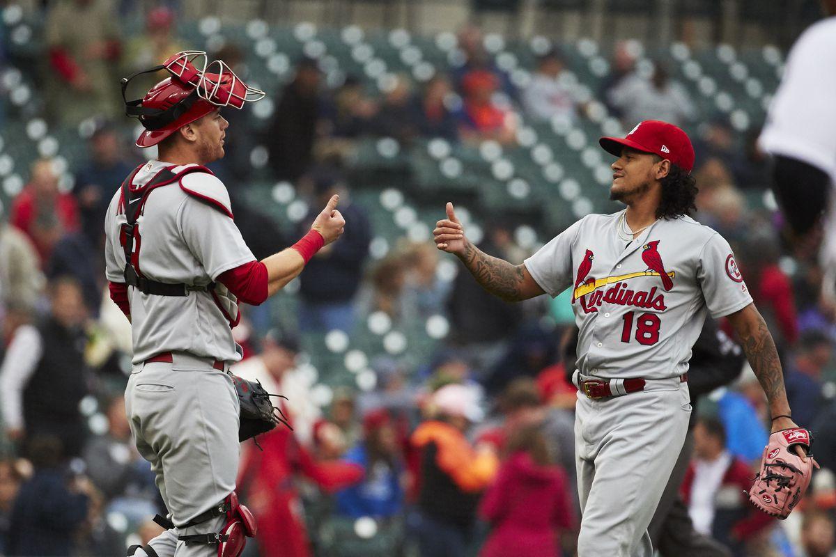 MLB: St. Louis Cardinals at Detroit Tigers