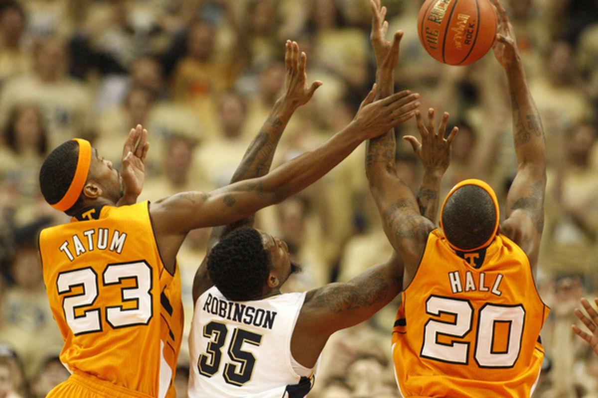 Pitt is out for revenge against Tennessee.  (Photo by Justin K. Aller/Getty Images)
