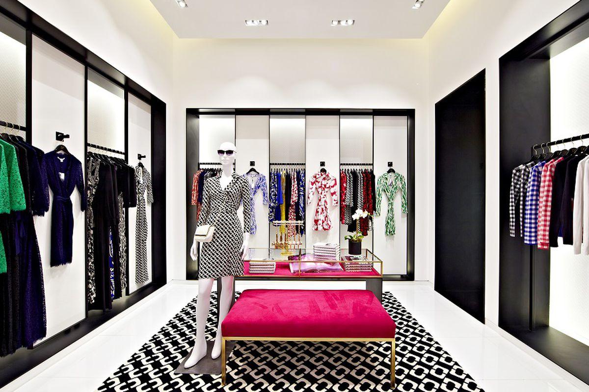 The Diane Von Furstenberg store at Brookfied Mall. Photo: Diane Von Furstenberg
