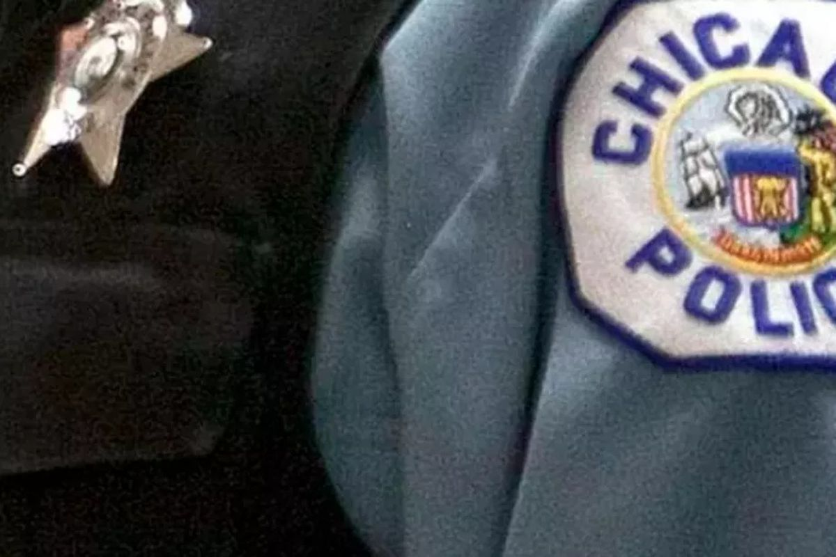 A Chicago Police Department shoulder patch