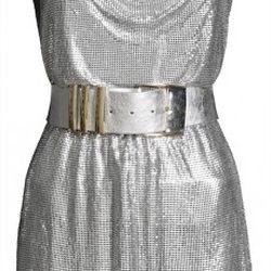Metallic Dress, $249