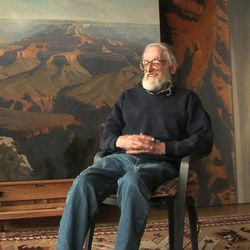 Cedar City landscape artist Jimmie Jones provided the seed money for the creation of the Southern Utah Museum of Art.