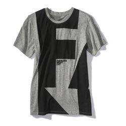 Men's short-sleeved t-shirt, $25