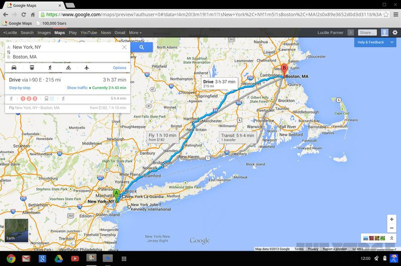 Google Maps for desktop: hands-on with the world\'s most-advanced web ...